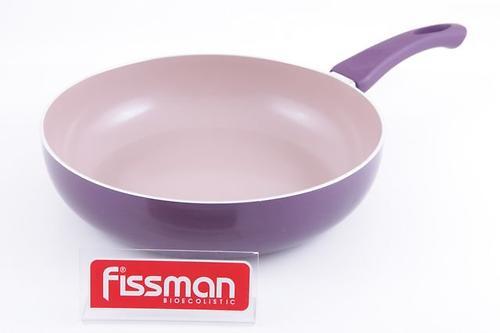 Глубокая сковорода Fissman AMORET 28x7 см (алюм. с керам. антипригарным покрытием) 4826 (1)
