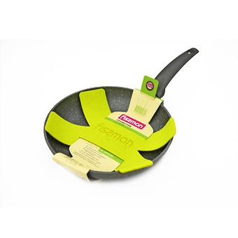 Сковорода для жарки GREY STONE 26x4,8 см с индукционным дном (алюминий с антипригарным покрытием) Fissman 4970 - Minim