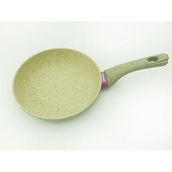 Сковорода для жарки WHITE STONE 20x4,5 см с индукционным дном (алюминий с антипригарным покрытием) Fissman 4981 - Minim