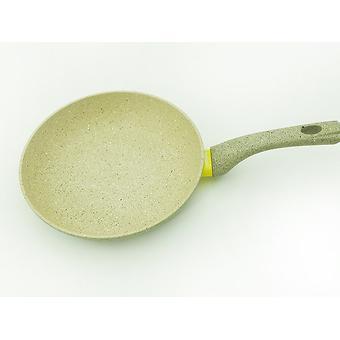 Сковорода для жарки WHITE STONE 24x5,1 см с индукционным дном (алюминий с антипригарным покрытием) Fissman 4982 - Minim