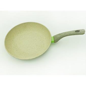 Сковорода для жарки WHITE STONE 26x5,4 см с индукционным дном (алюминий с антипригарным покрытием) Fissman 4983 - Minim