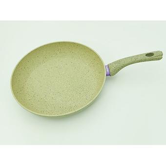 Сковорода для жарки WHITE STONE 30x5,7 см с индукционным дном (алюминий с антипригарным покрытием) Fissman 4985 - Minim