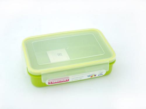 Прямоугольный контейнер для хранения продуктов 22x15x5,6 см / 1100 мл (пластик) Fissman 6744 (1)