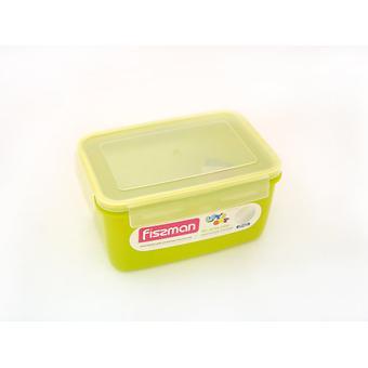 Прямоугольный контейнер для хранения продуктов 22x15x11 см / 2400 мл (пластик) Fissman 6745 - Minim