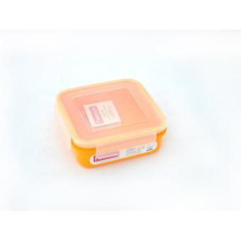 Квадратный контейнер для хранения продуктов 15x15x5,6 см / 700 мл (пластик) Fissman 6746 - Minim