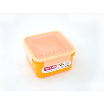 Квадратный контейнер для хранения продуктов 15x15x8,5 см / 1100 мл (пластик) Fissman 6747 - Minim