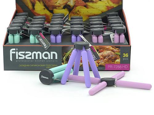 Складная силиконовая подставка под горячее Fissman 7288 (1)
