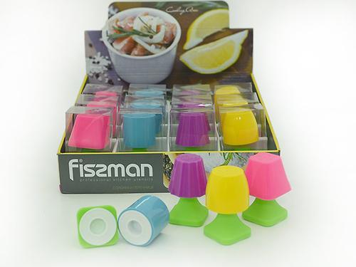 Солонка и перечница в форме настольной лампы (силикон) Fissman 7626 (1)