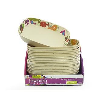 Глубокая тарелка Fissman 21 см из бамбукового волокна 7141 - Minim