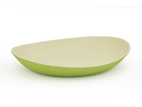 Глубокая тарелка Fissman 24 см Зеленая (бамбуковое волокно) 7152 (1)