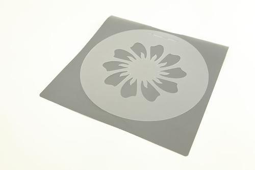 Комплект из 4 трафаретов для украшения торта 15/20/25/28 см (пластик) Fissman 7255 (1)