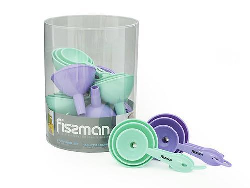 Набор воронок 3 шт. 9 см, 7 см, 5 см Fissman 7275 (1)