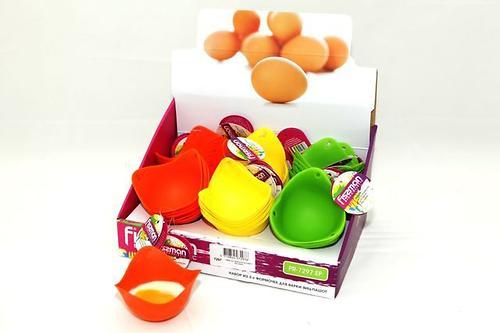 Набор из 2 формочек для варки яиц-пашот Fissman 7297 (3)
