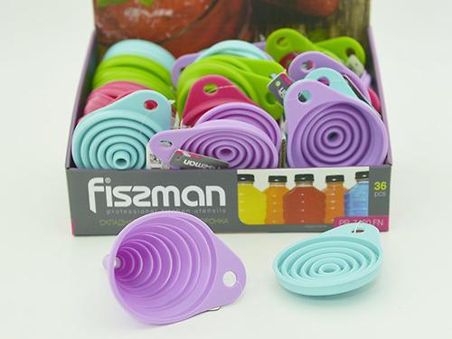 Складная воронка 9 см (силикон) Fissman 7420 (1)