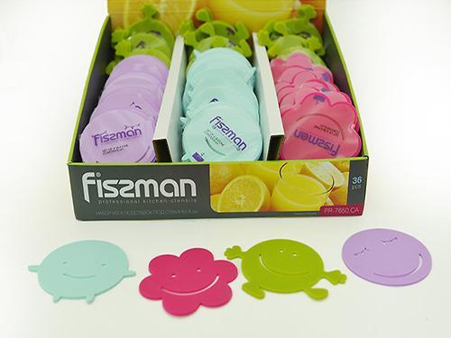 Набор из 4 подставок под стаканы 9 см (силикон) Fissman 7650 (1)