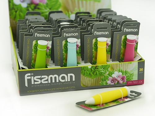 Кондитерская ручка для украшения торта 12 см (силикон) Fissman 7651 (3)