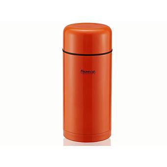 Термос Fissman 1200 мл Оранжевый (нерж. сталь) 7881 - Minim