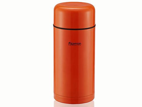 Термос Fissman 1200 мл Оранжевый (нерж. сталь) 7881 (1)