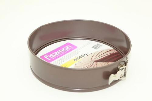 Разъемная форма для выпечки пирога 26x6,8 см (углеродистая сталь с антипригарным покрытием) Fissman 5589 (1)