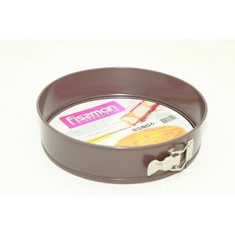 Разъемная форма для выпечки пирога 28x6,8 см (углеродистая сталь с антипригарным покрытием) Fissman 5590 - Minim