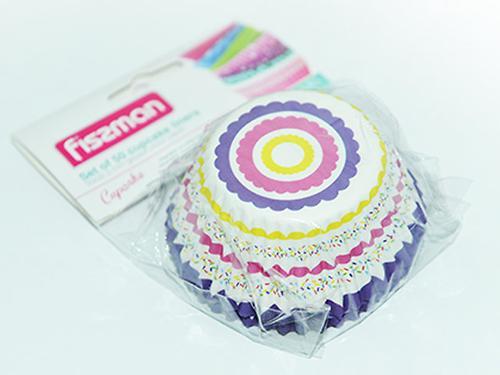 Комплект из 50 кондитерских формочек 50x32,5 мм (жиростойкая бумага) Fissman 6633 (1)