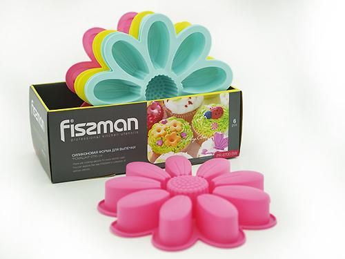 Форма для выпекания Fissman РОМАШКА 27x5 см (силикон) 6700 (1)