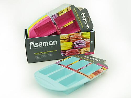 Форма для выпечки Fissman 6 батончиков (силикон) 6701 (1)