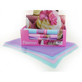 Силиконовый коврик для выпечки 60x40 см (12 шт. в промо-коробке) Fissman 7400 - Minim