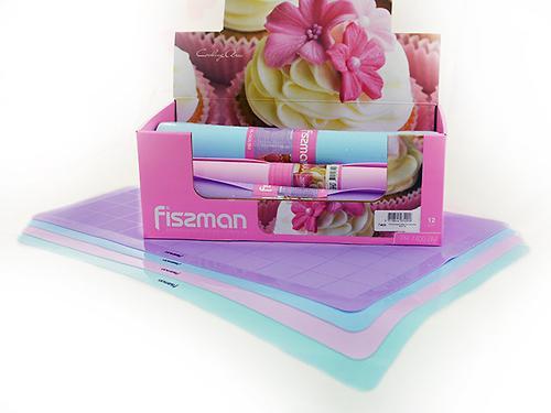 Силиконовый коврик Fissman для выпечки 60x40 см 7400 (1)