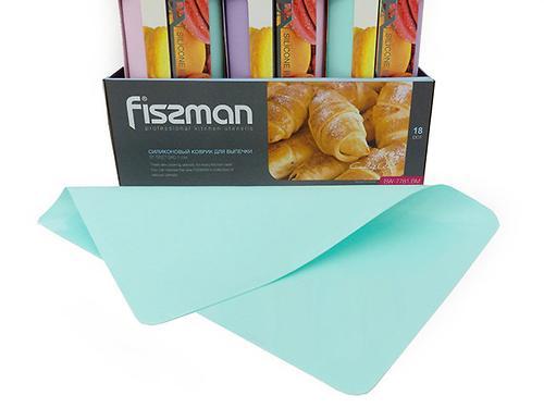 Силиконовый коврик для выпечки 37,5x27,5x0,1 см Fissman 7781 (1)