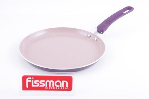 Сковорода для блинов Fissman AMORET 24 см (алюм. с керам. антипригарным покрытием) 4824 (1)