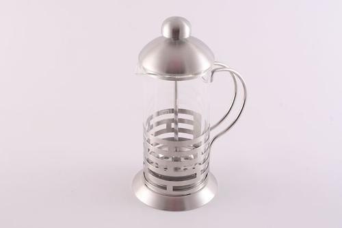 Заварочный чайник с поршнем OASIS 350 мл (стеклянная колба) Fissman 9011 (1)