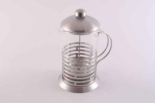 Заварочный чайник с поршнем OASIS 800 мл (стеклянная колба) Fissman 9012 (1)