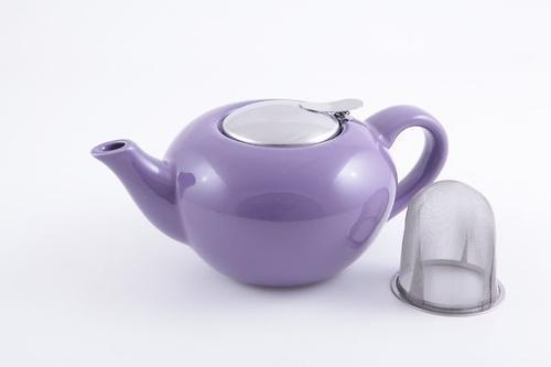 Заварочный чайник Fissman 750 мл с ситечком Фиолетовый (керамика) 9207 (1)