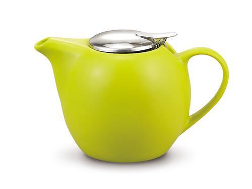 Заварочный чайник Fissman 750 мл с ситечком Светло-Зеленый (керамика) 9294 (1)
