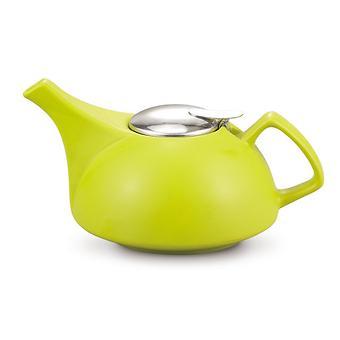 Заварочный чайник Fissman 900 мл с ситечком Светло-Зеленый (керамика) 9295 - Minim