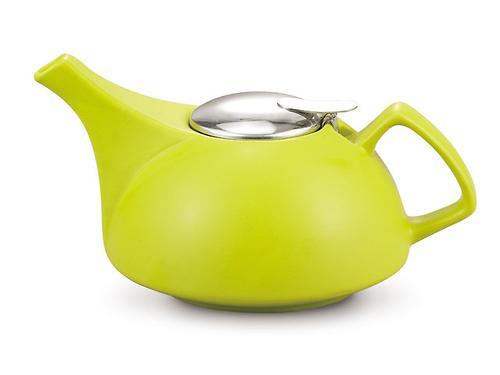 Заварочный чайник Fissman 900 мл с ситечком Светло-Зеленый (керамика) 9295 (1)