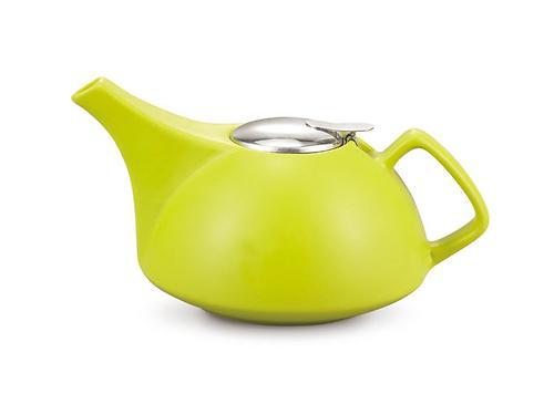 Заварочный чайник Fissman 1350 мл с ситечком Светло-Зеленый (керамика) 9296 (1)