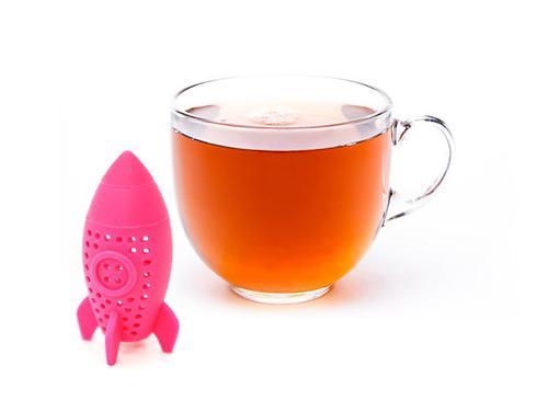 Ситечко для заваривания чая Fissman РАКЕТА (силикон) 7393 (1)