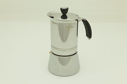 Гейзерная кофеварка на 6 порций / 365 мл (нерж. сталь) Fissman 9410 (1)