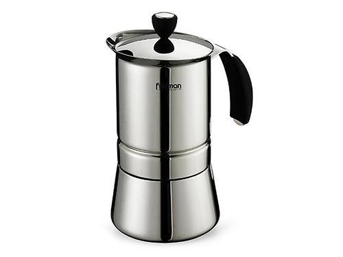 Гейзерная кофеварка на 9 порций / 560 мл (нерж. сталь) Fissman 9411 (1)