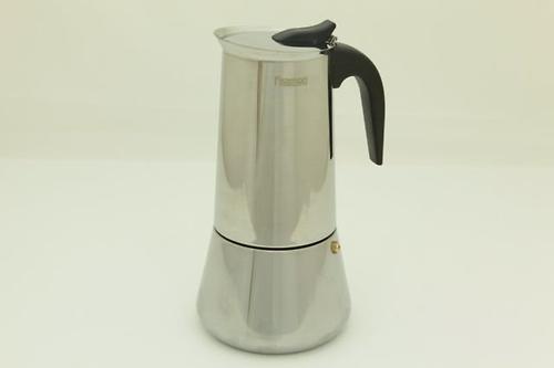 Гейзерная кофеварка на 12 порций / 825 мл (нерж. сталь) Fissman 9413 (3)