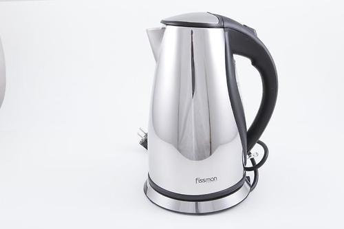 Чайник электрический VALLETTA 1,7 л (нерж. сталь) Fissman 5900 (1)