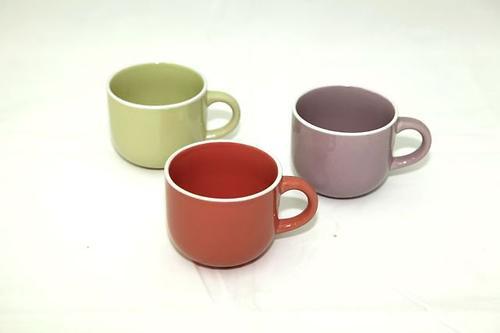 Набор из 3 чашек Fissman 250 мл с блюдцами (керамика) 9255 (1)