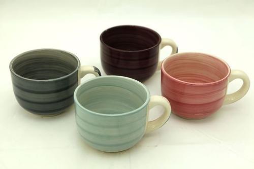 Набор из 4 бульонных чашек Fissman 500 мл (керамика) 9257 (1)