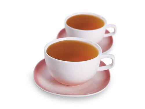 Набор из двух чашек и блюдец Fissman MONE 500 мл (керамика) 9287 (1)