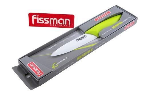 Нож для овощей Fissman SEMPRE 13 см (керамическое лезвие) 2128 (1)