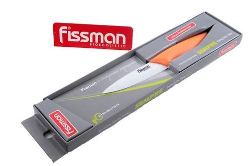 Разделочный нож SEMPRE 10 см (керамическое лезвие) Fissman 2129 (1)