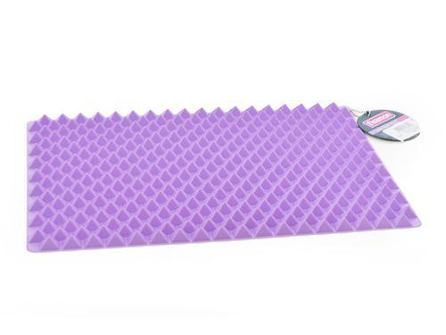 Рельефный коврик для запекания 40x28 см, цвет ЛИЛОВЫЙ (силикон) Fissman 7551 (3)