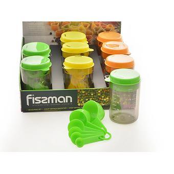 Набор мерных емкостей 8 пр. (пластик) Fissman 7526 - Minim